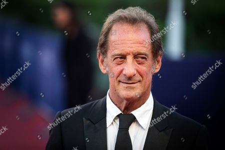 French actor Vincent Lindon arrives on the red carpet prior to the premiere of 'Line of Fire' during the 44th Deauville American Film Festival, in Deauville, France, 07 September 2018. The festival runs from 31 August to 11 September.