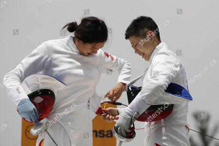Editorial photo of Modern Pentathlon World Championship in Mexico City - 07 Sep 2018