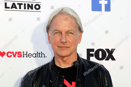 Mark Harmon arrives at the 2018 Stand Up To Cancer event at the Barker Hangar at the Santa Monica airport, in Santa Monica, Calif