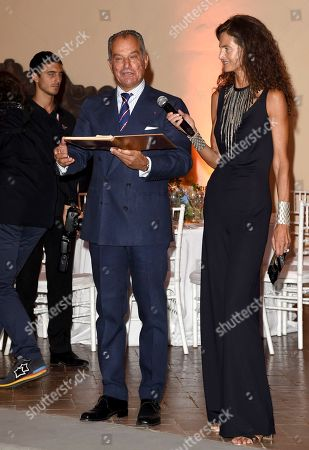 Editorial image of Celebrity Fight Night, Florence, Italy - 07 Sep 2018