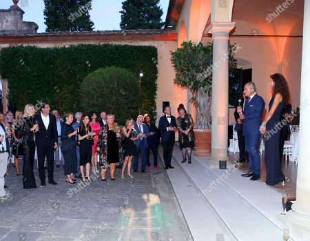 Editorial photo of Celebrity Fight Night, Florence, Italy - 07 Sep 2018