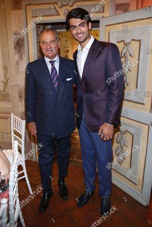 Stock Photo of Leonardo Ferragamo and Matteo Bocelli