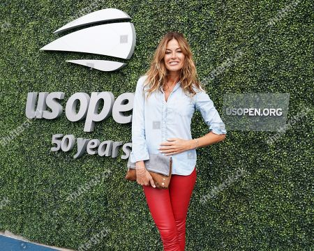 Stock Photo of Kelly Killoren Bensimon attends the women's finals of the U.S. Open tennis tournament at the USTA Billie Jean King National Tennis Center, in New York
