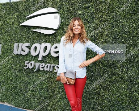 Stock Picture of Kelly Killoren Bensimon attends the women's finals of the U.S. Open tennis tournament at the USTA Billie Jean King National Tennis Center, in New York