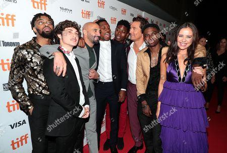 BoodahDARR, Richie Merritt, Yann Demange, Director, Jonathan Majors, RJ Cyler, Matthew McConaughey, IshDARR and Bel Powley