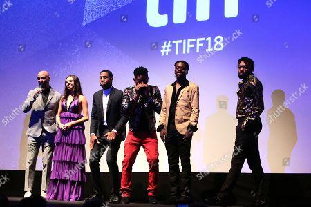 Yann Demange, Director, Bel Powley, Jonathan Majors, RJ Cyler, IshDARR and BoodahDARR