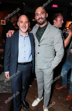 Stock Image of Jeffrey Robinov, Producer and Yann Demange, Director