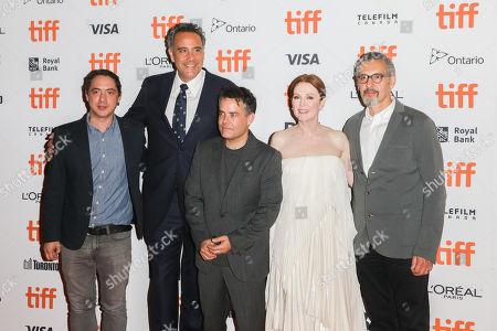 Brad Garrett, Sebastian Lelio, Julianne Moore, John Turturro and Guest