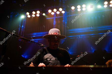 Ben Harper performs on stage at TheTabernacle, in Atlanta