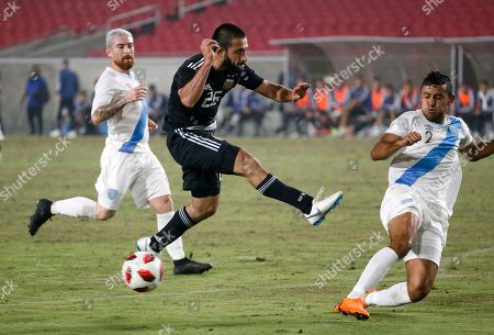 Editorial photo of Argentina Guatemala Soccer, Los Angeles, USA - 07 Sep 2018