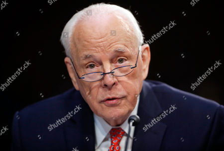 John Dean, former Counsel to the President President Richard Nixon, speaks to the Senate Judiciary Committee during the final stage of the confirmation hearing for President Donald Trump's Supreme Court nominee, Brett Kavanaugh, on Capitol Hill in Washington. It's a different time with different circumstances, but parallels with Watergate have been growing by the week. A White House seething with intrigue and backstabbing, hunting for the anonymous Deep-State-Throat. A president feeling besieged by tormentors, tending his own enemies list. A special prosecutor's investigation, sparked by a break-in at the Democratic National Committee. Dean is even testifying to Congress about the abuse of power