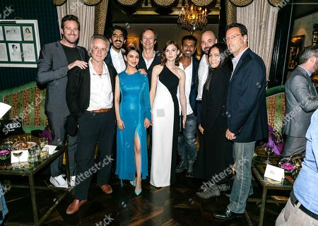 Armie Hammer, John Collee, Writer, Dev Patel, Nazanin Boniadi, Volker Bertelmann, Composer, Tilda Cobham-Hervey, Joe Thomas, Producer, Anthony Maras, Writer/Director/Executive Producer and Andrew Karpen, CEO of Bleeker Street