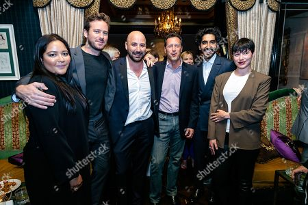 Shivani Rawat, Producer, Armie Hammer, Anthony Maras, Writer/Director/Executive Producer, Andrew Karpen, CEO of Bleeker Street, Dev Patel and guest