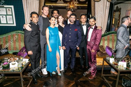 Manoj Mehra, Armie Hammer, Nazanin Boniadi, Dev Patel, Tilda Cobham-Hervey, Suhail Nayyar, Anthony Maras, Writer/Director/Executive Producer, Amandeep Singh and Dinesh Kumar
