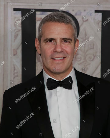 Andy Cohen attends the Ralph Lauren 50th Anniversary Event held at Bethesda Terrace in Central Park during New York Fashion Week, in New York