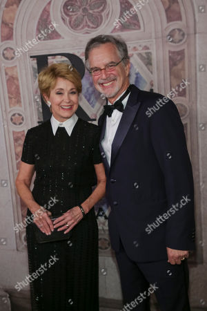Jane Pauley, Garry Trudeau. Jane Pauley, left, and Garry Trudeau attends the Ralph Lauren 50th Anniversary Event held at Bethesda Terrace in Central Park during New York Fashion Week, in New York