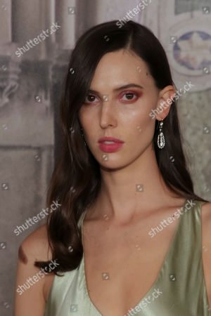 Ruby Aldridge, attends the Ralph Lauren 50th Anniversary Event held at Bethesda Terrace in Central Park during New York Fashion Week, in New York
