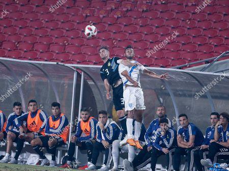 Editorial image of Argentina Guatemala Soccer, Los Angeles, USA - 07 Sep 2018