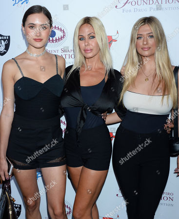 Stock Image of Alexandra Lynne Lamas, Shauna Sand, Isabella Lorenza Lamas