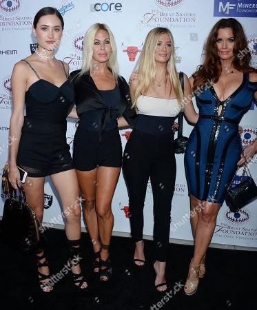 Stock Picture of Alexandra Lynne Lamas, Shauna Sand, Isabella Lorenza Lamas, Carrie Stevens