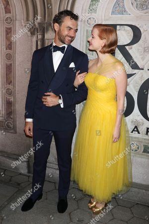 Gian Luca Passi de Preposulo and Jessica Chastain