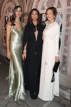 Ruby Aldridge, Lily Aldridge and Saffron Aldridge