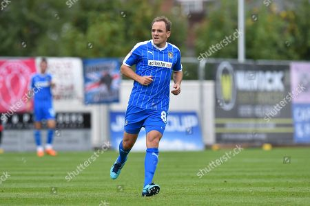 David Vaughan (8) of Notts County during the EFL Sky Bet League 2 match between Exeter City and Notts County at St James' Park, Exeter