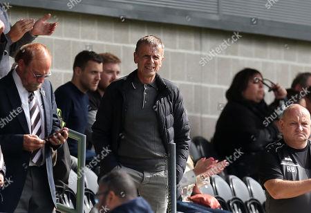 Former Eastender actor Tom Watt (Lofty) during Barnet vs Maidenhead United, Vanarama National League Football at the Hive Stadium on 8th September 2018