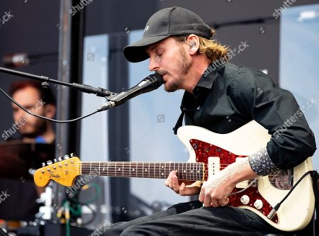 British musician Ben Howard performs during Lollapalooza Berlin 2018 at the Olympiastadion Berlin in Berlin, Germany, 08 September 2018. The music festival runs from 08 to 09 September.