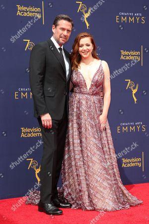 Alexis Denisof and Alyson Hannigan
