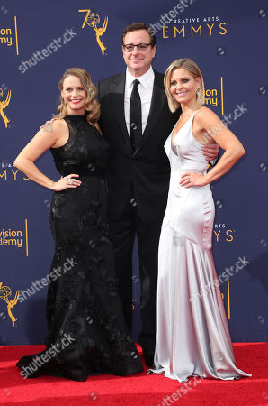 Andrea Barber, Bob Saget and Candace Cameron Bure