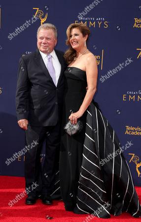 Stock Image of William Shatner and Elizabeth Shatner