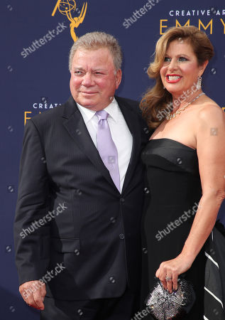 William Shatner and Elizabeth Shatner