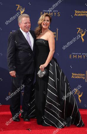Stock Picture of William Shatner and Elizabeth Shatner