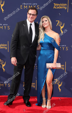 Stock Picture of Bob Saget and Kelly Rizzo