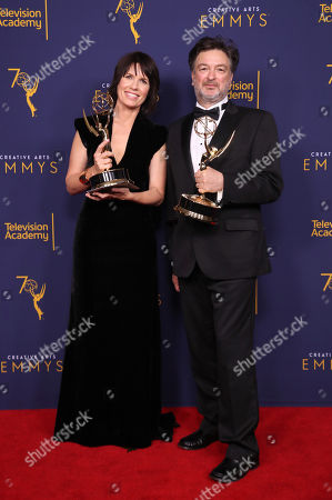 Editorial photo of Creative Arts Emmy Awards, Press Room, Los Angeles, USA - 08 Sep 2018
