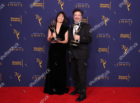 Editorial image of Creative Arts Emmy Awards, Press Room, Los Angeles, USA - 08 Sep 2018