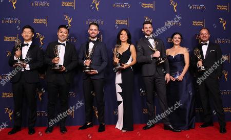 Editorial image of Creative Arts Emmy Awards, Press Room, Los Angeles, USA - 08 Sep 2018