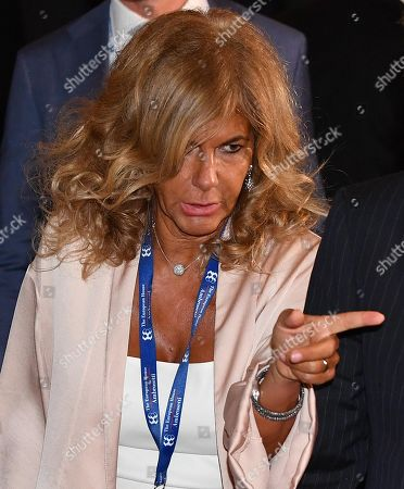 Emma Marcegaglia, Chairman of the Board of Italian Energy group Eni S.p.A, at the Ambrosetti Economical Forum in Cernobbio, Italy, 08 September 2018. The 44th edition of the forum with its title 'Intelligence on the World, Europe, and Italy' is held from 07 to 09 September and gathers heads of state and government, top representatives of European institutions, ministers, Nobel prize winners, businessmen, managers and experts from around the world to discuss global political and economical topics.