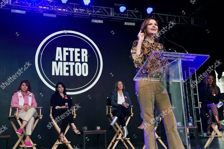 Editorial picture of 2018 TIFF - Share Her Journey Rally, Toronto, Canada - 08 Sep 2018