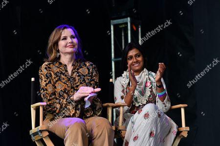 Geena Davis and Nandita Das