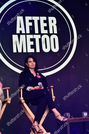 Stock Picture of Mia Kirshner, co-founder of Aftermetoo