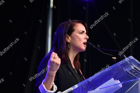Editorial picture of 'Share Her Journey' rally, Toronto International Film Festival, Canada - 08 Sep 2018