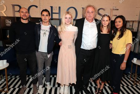 Fred Berger, Producer, Max Minghella, Writer/Director, Elle Fanning, Zlatko Buric, Clara Rugaard-Larsen, Autumn Durald, Cinematographer