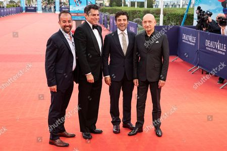 Editorial photo of Operation Finale - Red Carpet - 44th Deauville American Film Festival, France - 08 Sep 2018