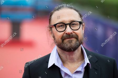 Stock Image of French director Pierre Morel arrives on the red carpet prior to the premiere of 'Operation Finale' during the 44th Deauville American Film Festival, in Deauville, France, 08 September 2018. The festival runs from 31 August to 11 September.