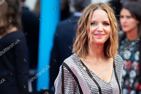 US actress and director Jordana Spiro arrives on the red carpet prior to the premiere of 'Operation Finale' during the 44th Deauville American Film Festival, in Deauville, France, 08 September 2018. The festival runs from 31 August to 11 September.