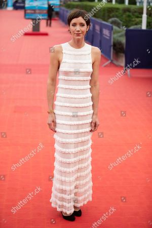 French actress and member of the jury Sara Giraudeau arrives on the red carpet prior to the premiere of 'Operation Finale' during the 44th Deauville American Film Festival, in Deauville, France, 08 September 2018. The festival runs from 31 August to 11 September.