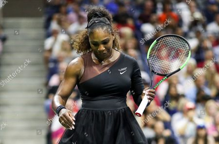 Serena Williams reacts during the women's final