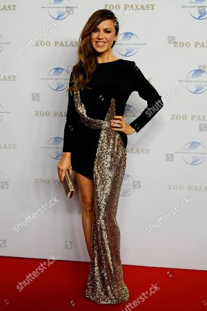 German actress Natalia Avelon arrives on the red carpet of a gala on the occasion of the 100th birthday of German film producer Artur Brauner in Berlin, Germany, 08 September 2018. Artur 'Atze' Brauner celebrated his 100th birthday on 01 August 2018 in the company of his family. With the gala, the film world wants to celebrate the producer officially in the Zoo Palast cinema. Around 700 invited guests from all over Europe are expected, including many companions and prominent actors.